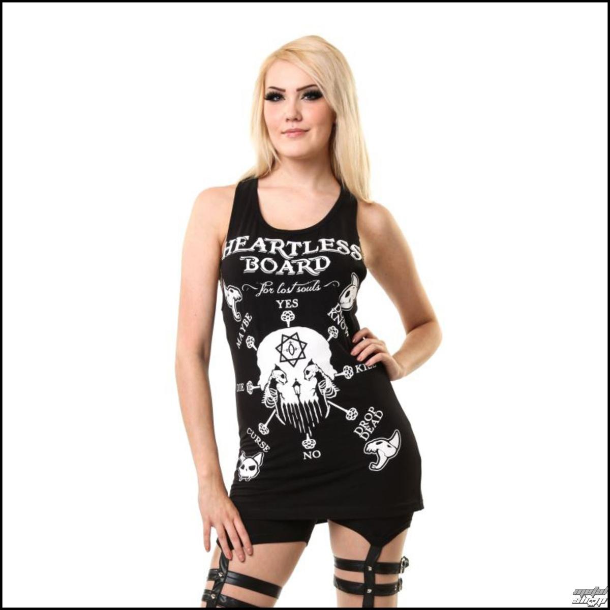 šaty dámske HEARTLESS - Yes No Možno - Black