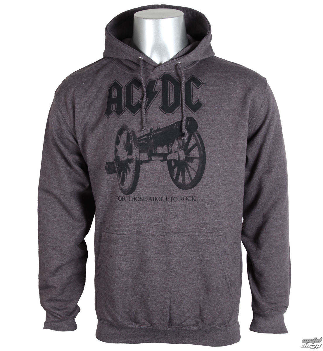 mikina pánska AC/DC - For Those About To Rock - PLASTIC HEAD - PH9278