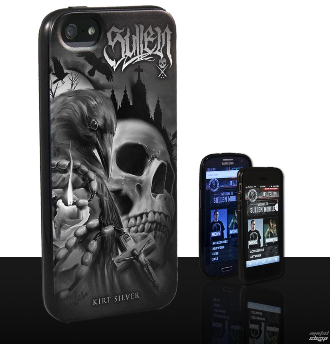 kryt na mobil SULLEN - Kirt Silver - Black - GS4