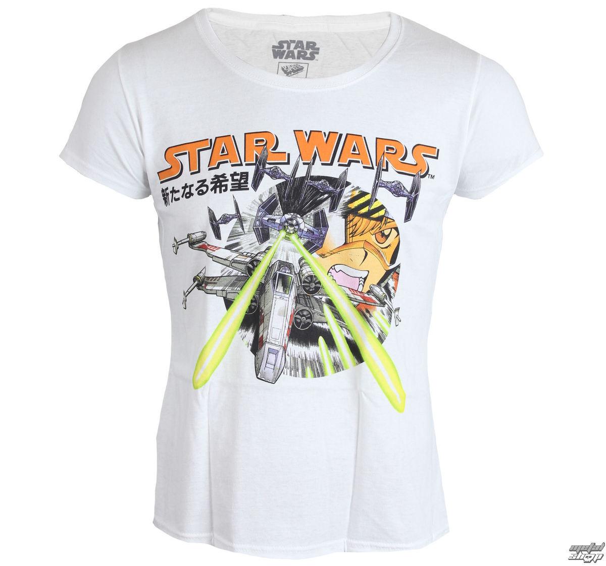 tričko pánske Star Wars - Manga X-Wing Fotl- LIVE NATION - PE11996SKWP
