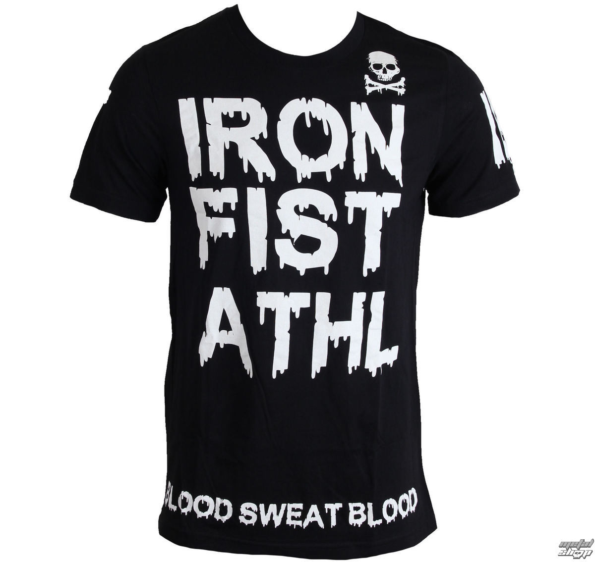 tričko pánske IRON FIST - Blood Drip - Black - IF103161