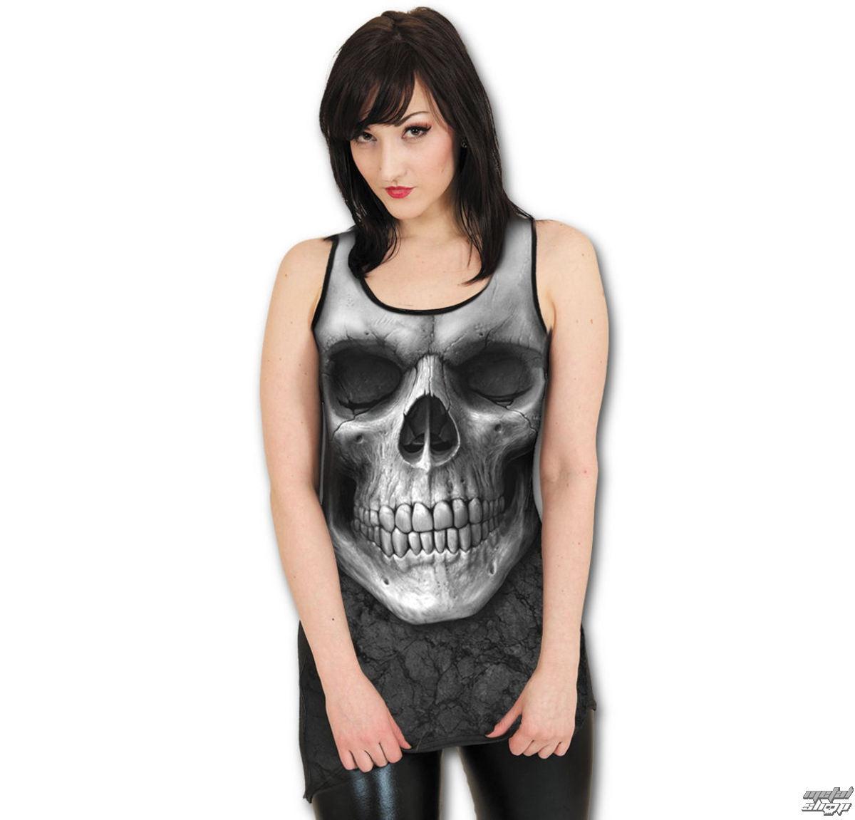 šaty dámske SPIRAL - Solemin Skull - Black - S012G056
