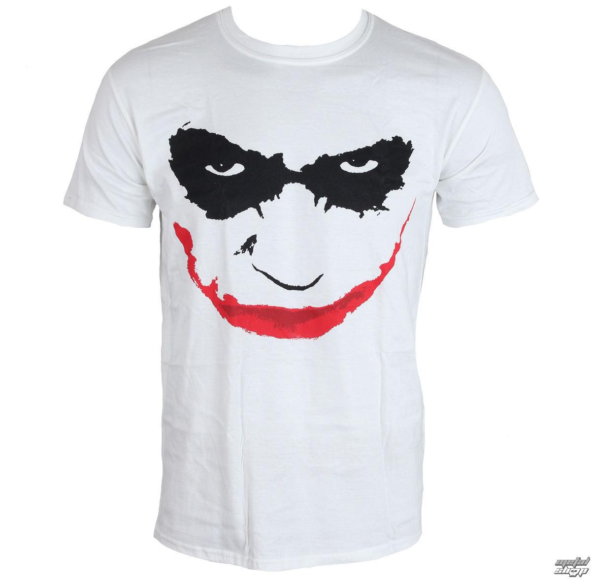 tričko pánske Batman - The Dark Knight - Joker Smile - LIVE NATION - PE11811TSW