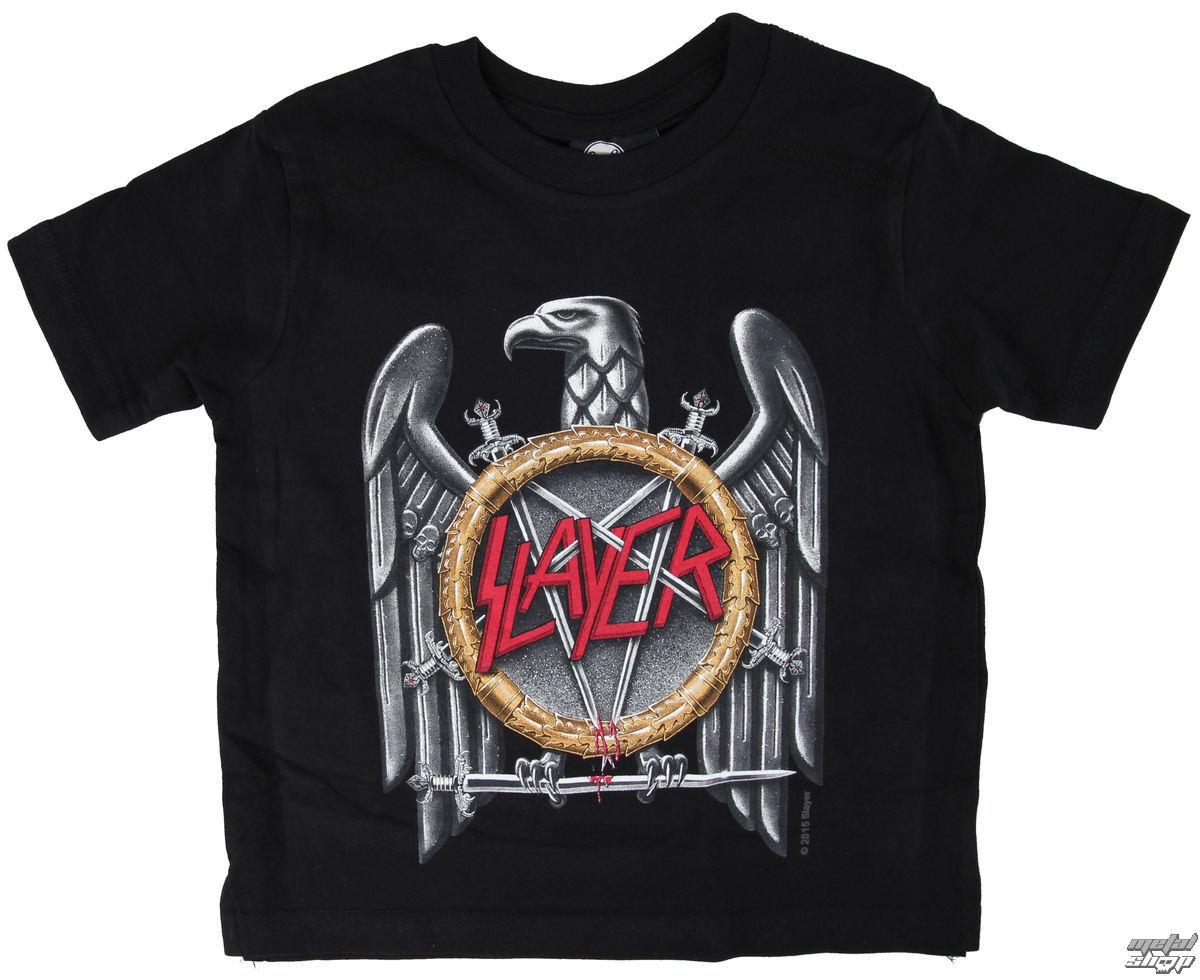 tričko detské Slayer - Silver Eagle - Black - Metal-Kids - MK04