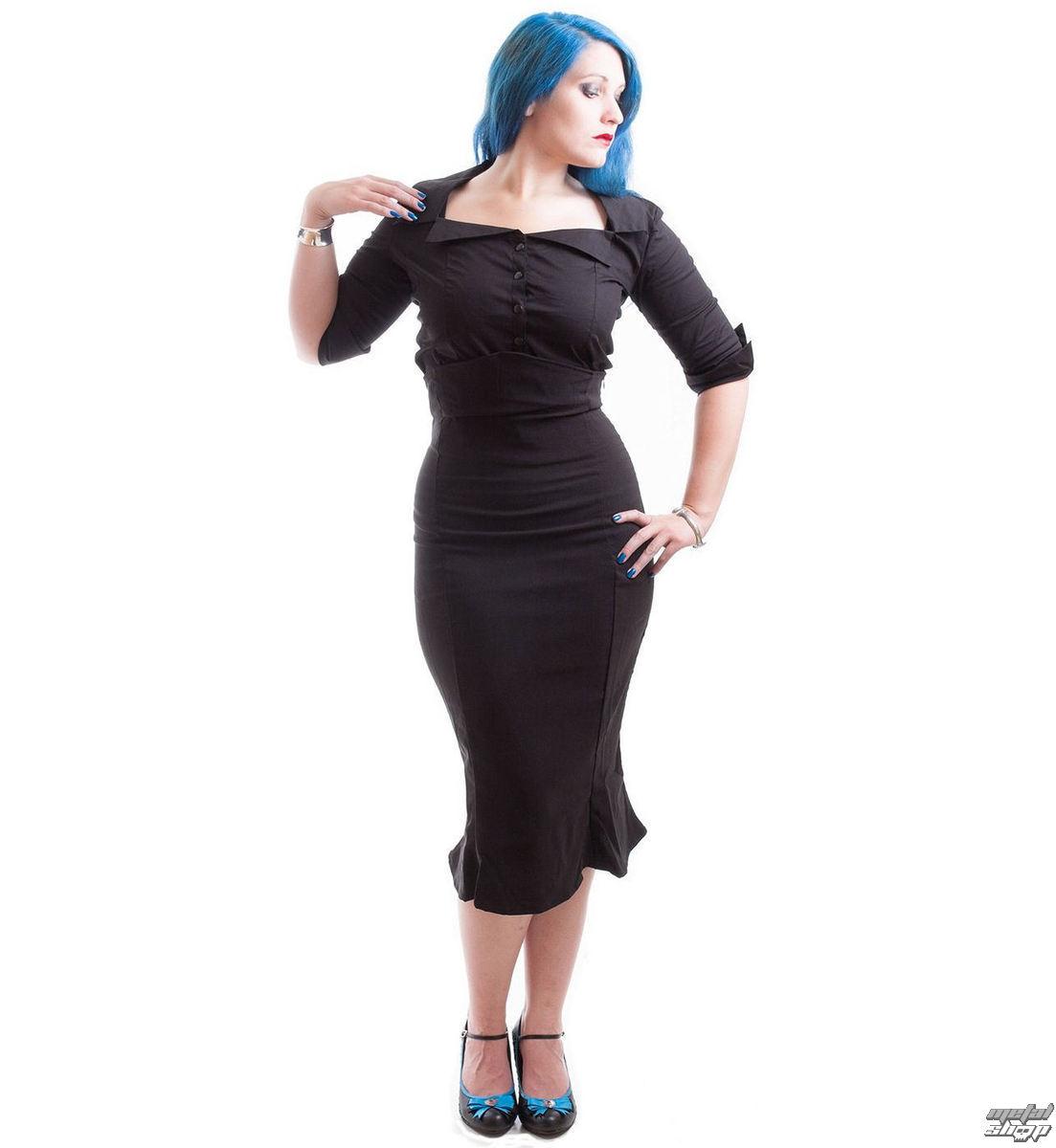 košele dámska NECESSARY EVIL - Belisama Poplin - Black - N1109