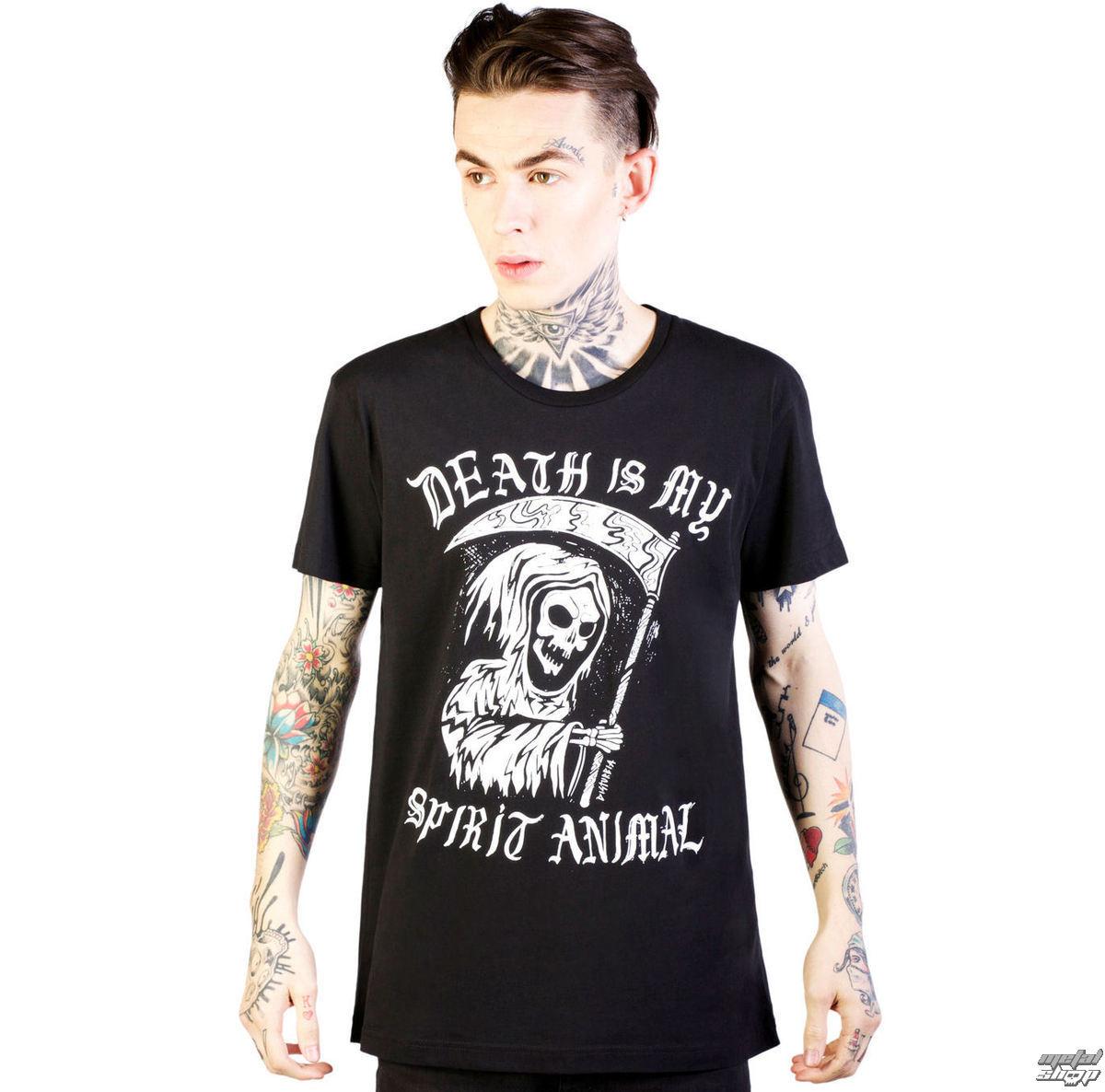 tričko pánske DISTURBIA - Spirit Animal - Black - DIS750