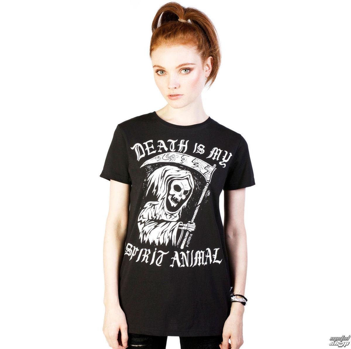 tričko dámske DISTURBIA - Spirit Animal - Black - DIS701