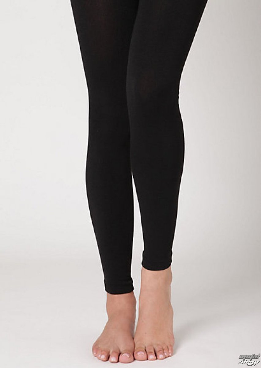 nohavice dámske zimný (termo legíny) - Hodvábny - Black - SHFLF