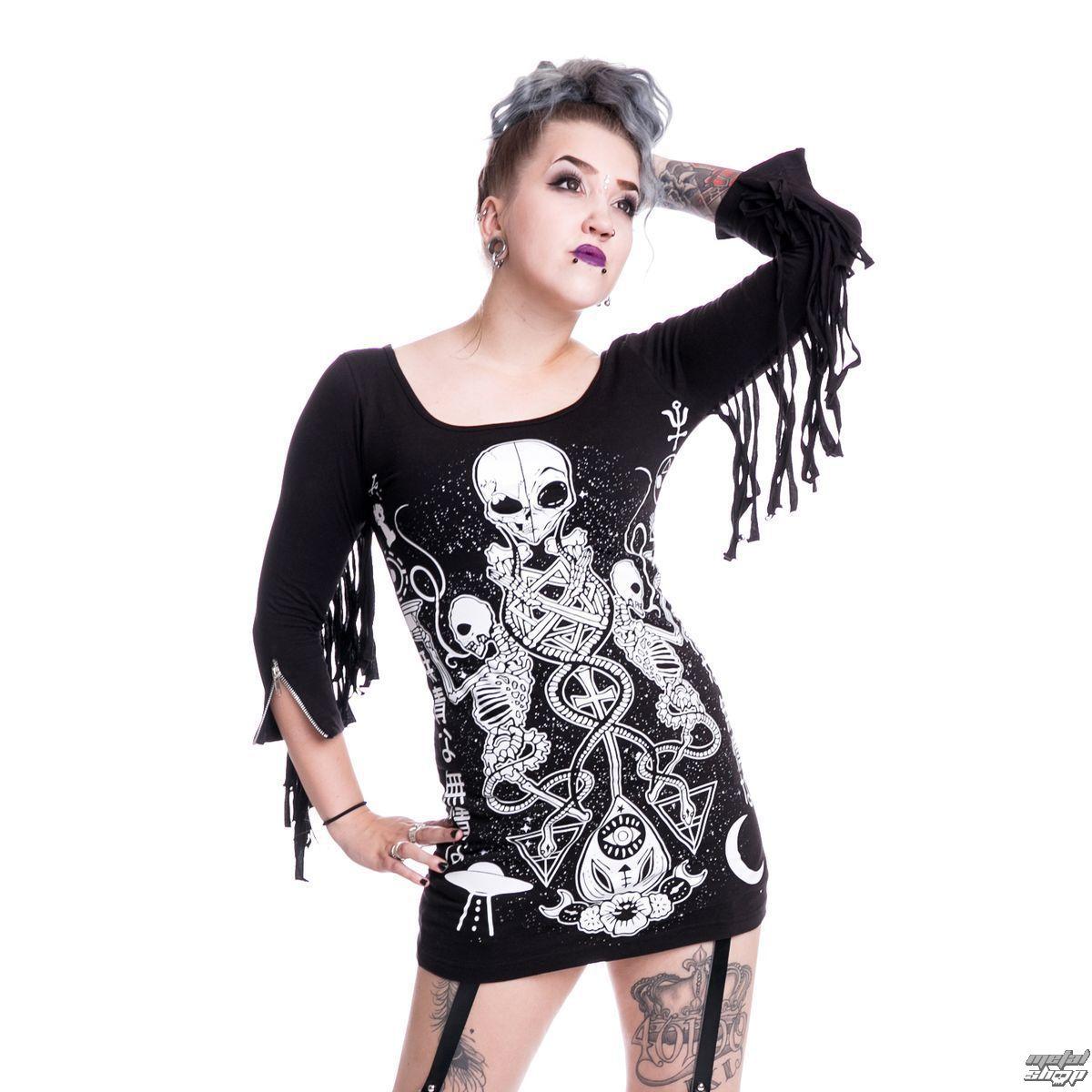šaty dámske HEARTLESS - Alien - Black