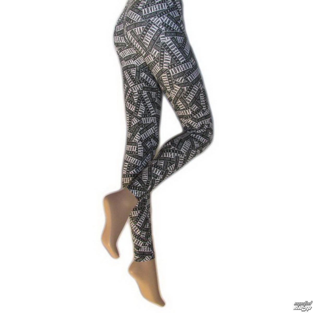 nohavice dámske (legíny) LEGWEAR - Parental Advisory - SHLEPA2AS1