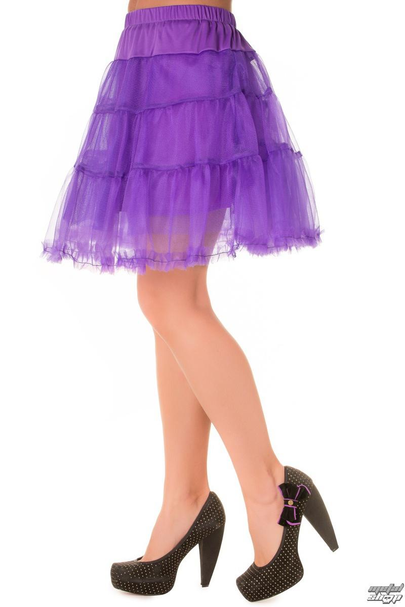 sukňa dámska (spodnička) BANNED - Purple - SBN202
