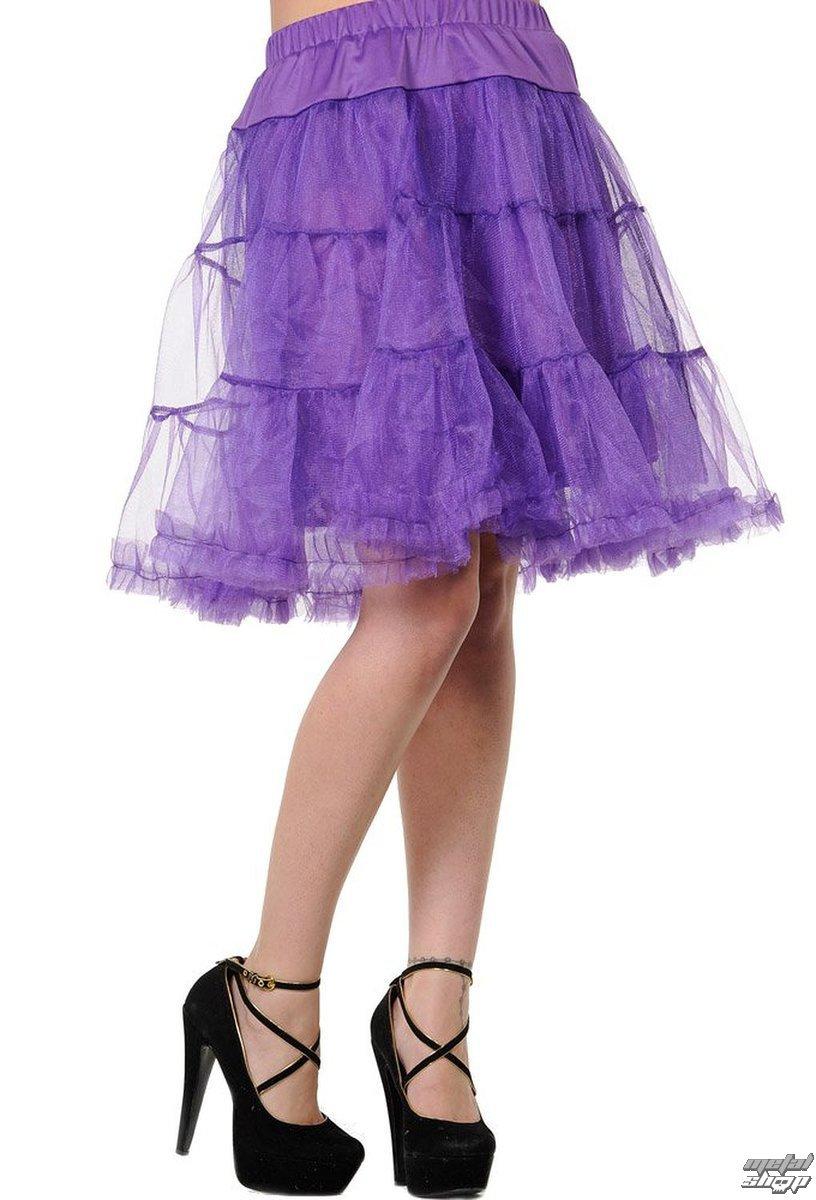 sukňa dámska (spodnička) BANNED - Purple - SBN203