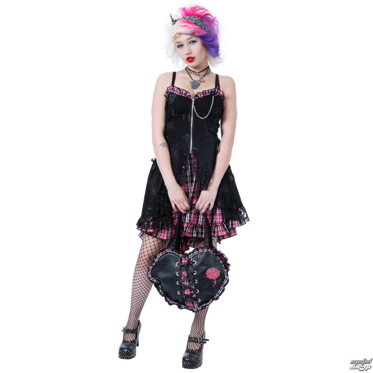 šaty dámske DEAD THREADS - Pink - DC8836