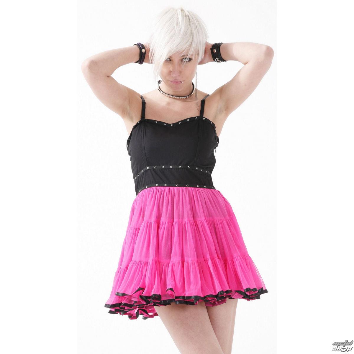 šaty dámske DEAD THREADS - Pink - DC9064