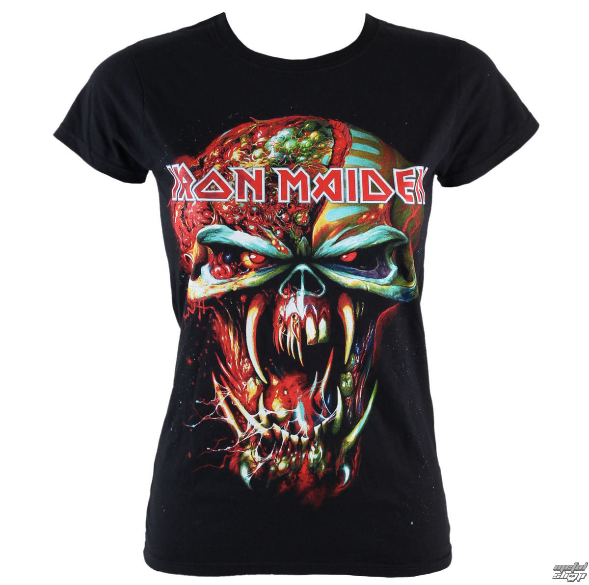 tričko dámske Iron Maiden - Final Frontier Eddie - ROCK OFF - IMTEE18LB