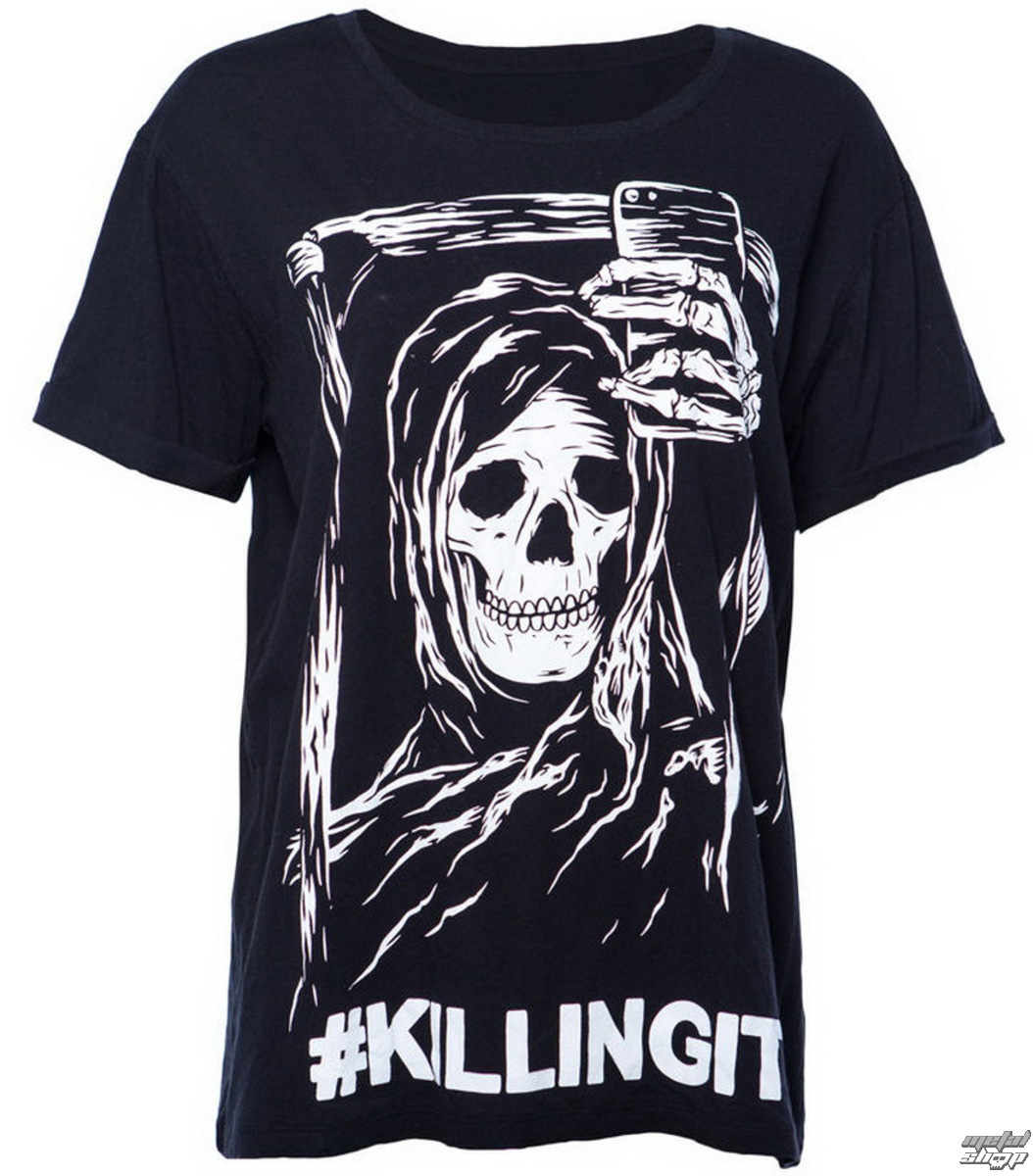 tričko pánske IRON FIST- Killing It Boyfriend - Black - IF003651