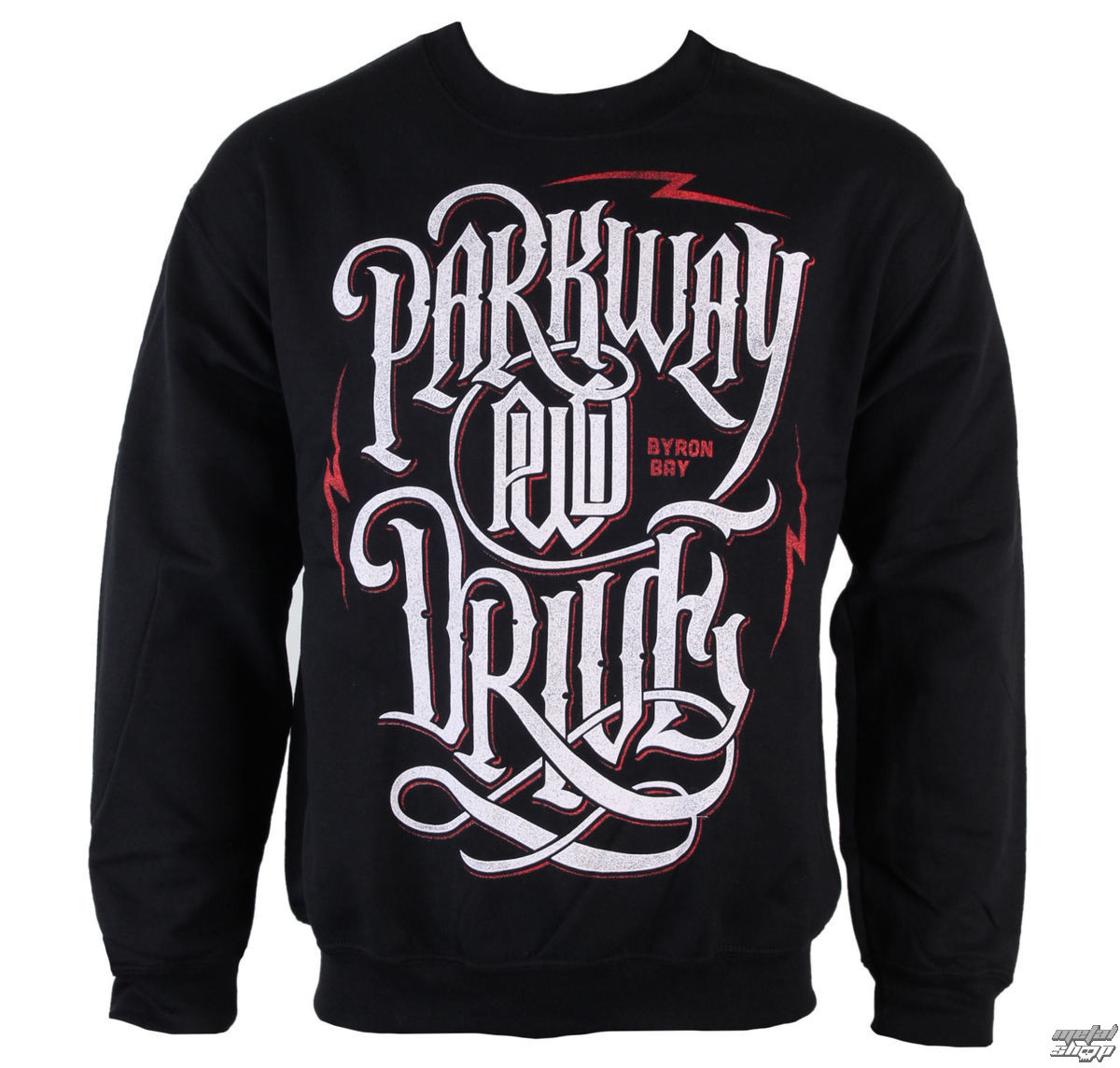 mikina pánska Parkway Drive - Electric Logo - Black - KINGS ROAD