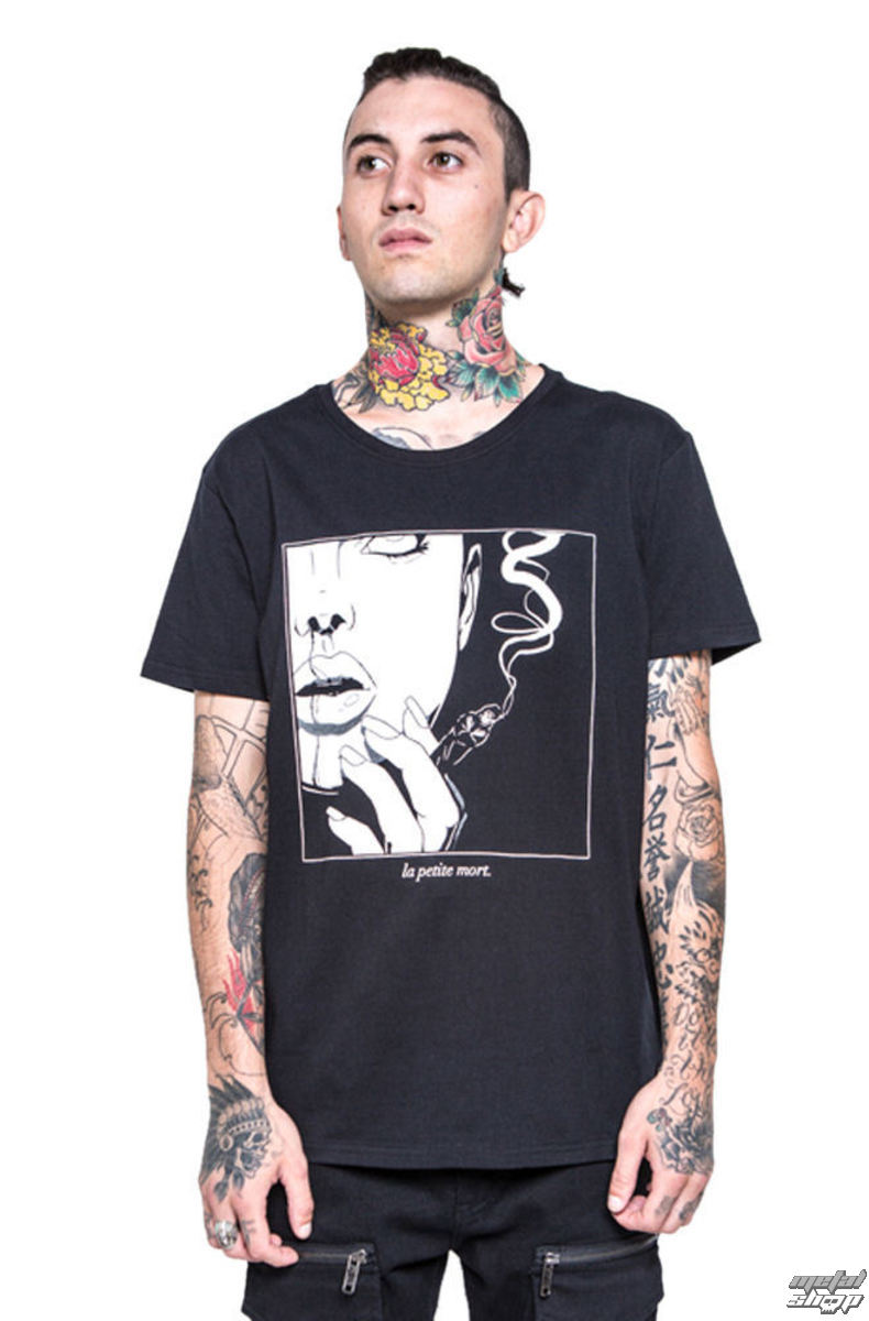 tričko pánske IRON FIST - Black Death - Black - IFM003719