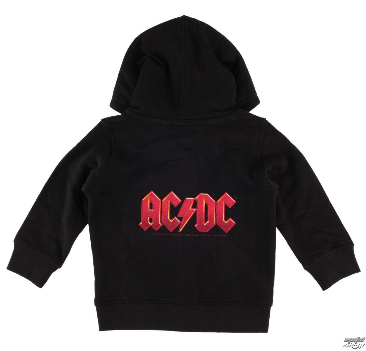 mikina detská AC/DC - Logo 4c - Metal-Kids - MK213