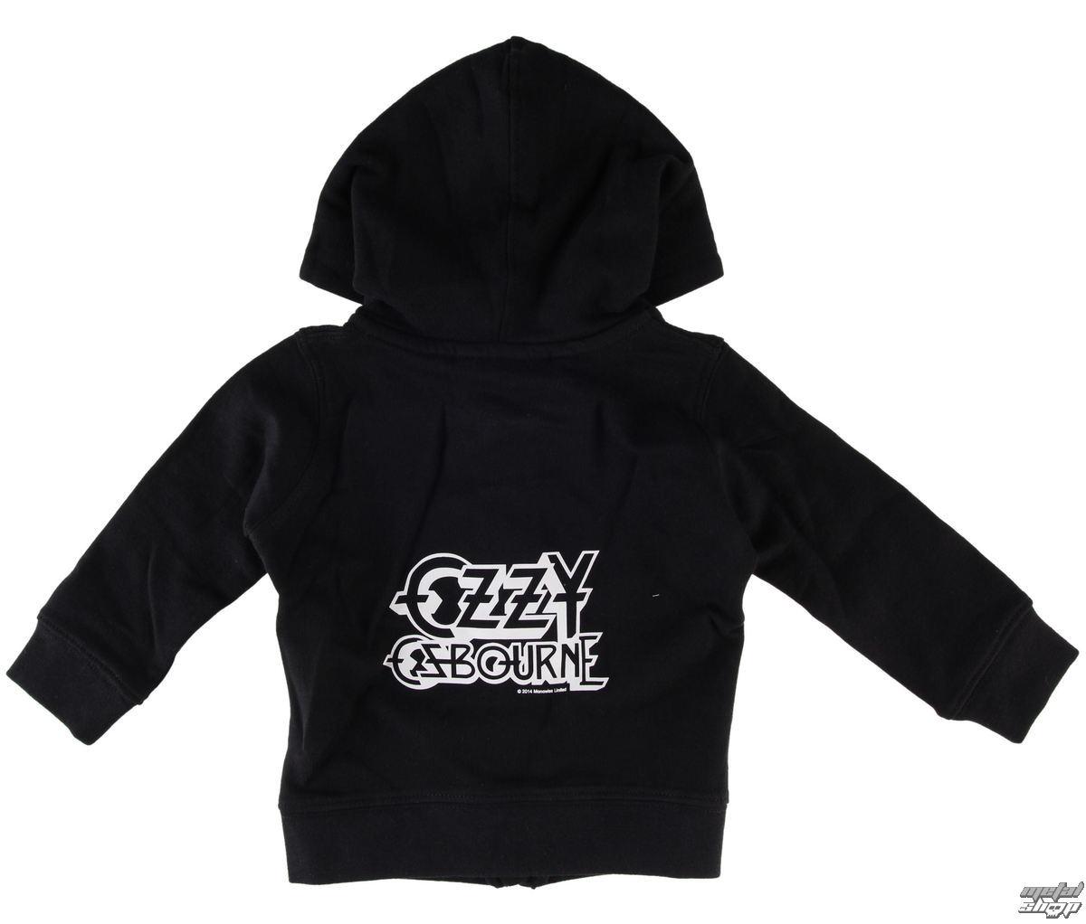 mikina detská Ozzy Osbourne - Logo - Metal-Kids - MK227