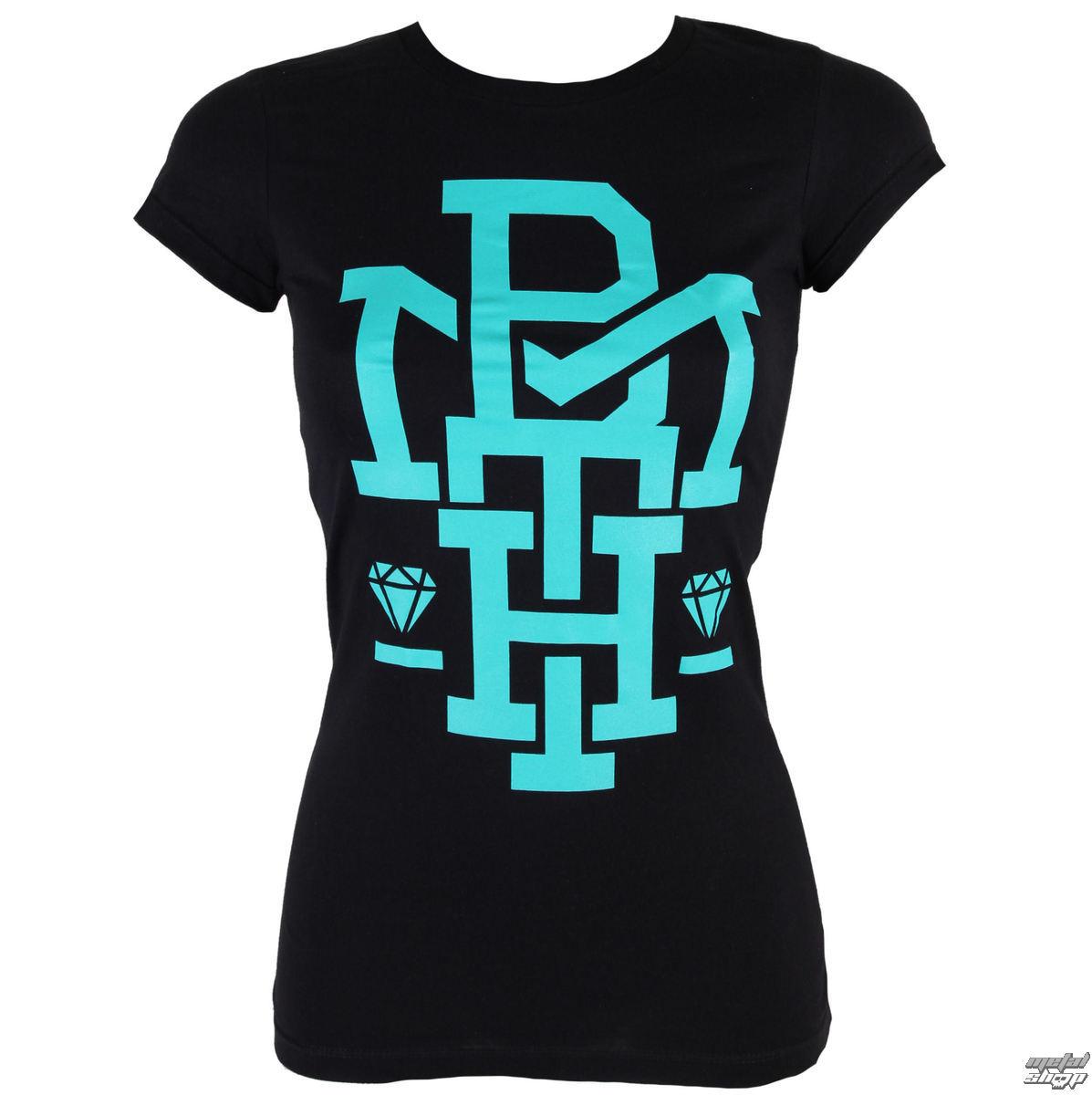 tričko dámske Bring Me The Horizon - Diamond Turquoise - BRAVADO - 31921119