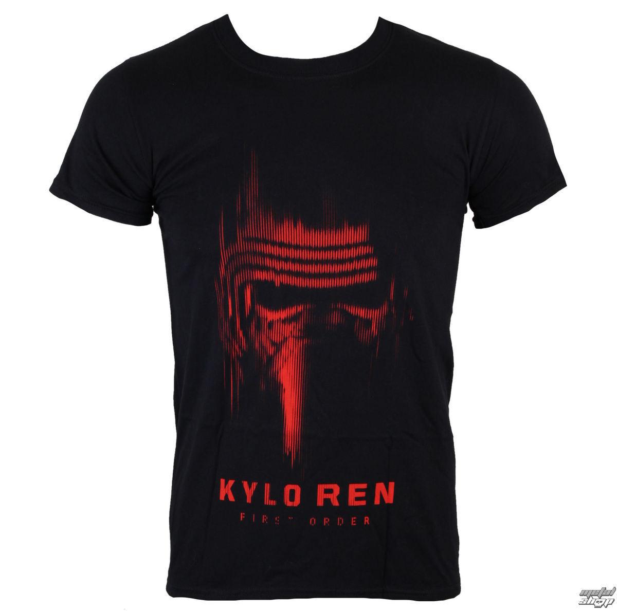 tričko pánske Star Wars - Star Wars VII - Kylo Ren - Black - INDIEGO - Indie0321