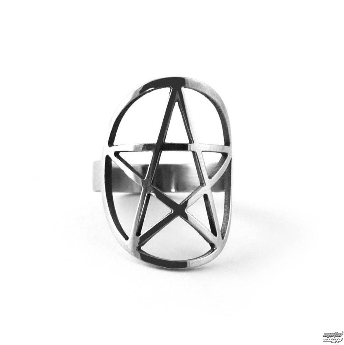 prsteň KILLSTAR - Pentagram - KIL094