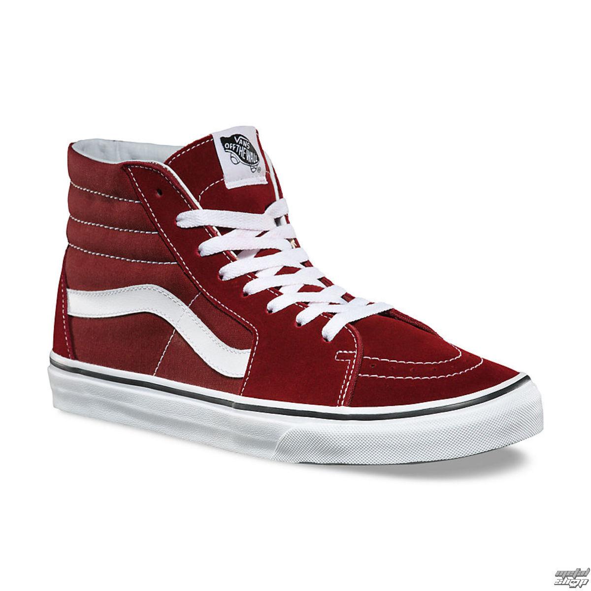 topánky VANS - SK8-HI MADDER - BROWN - VA38GEOVK