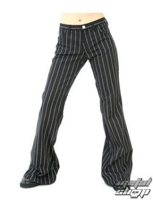 nohavice dámske Aderlass - Bell Bottom Pin Stripe - M-1-06-050-01