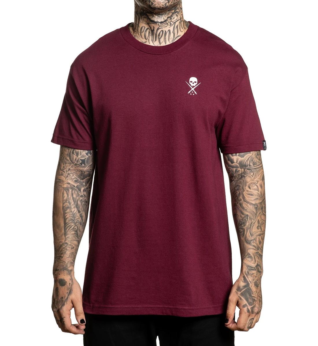 tričko hardcore SULLEN STANDARD ISSUE Čierna XL