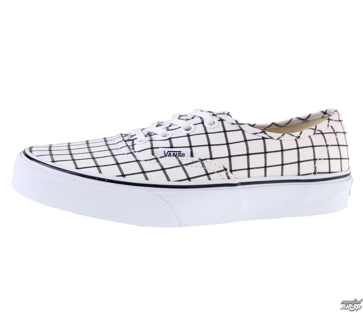 topánky dámske VANS - U Authentic (Grid) - TRUE WHITE - V3B9IQU