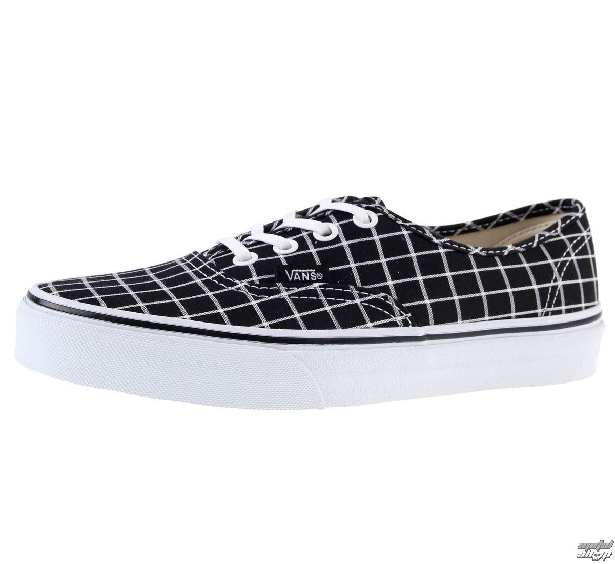 topánky VANS - U Authentic - Grid - Black - V3B9IQT