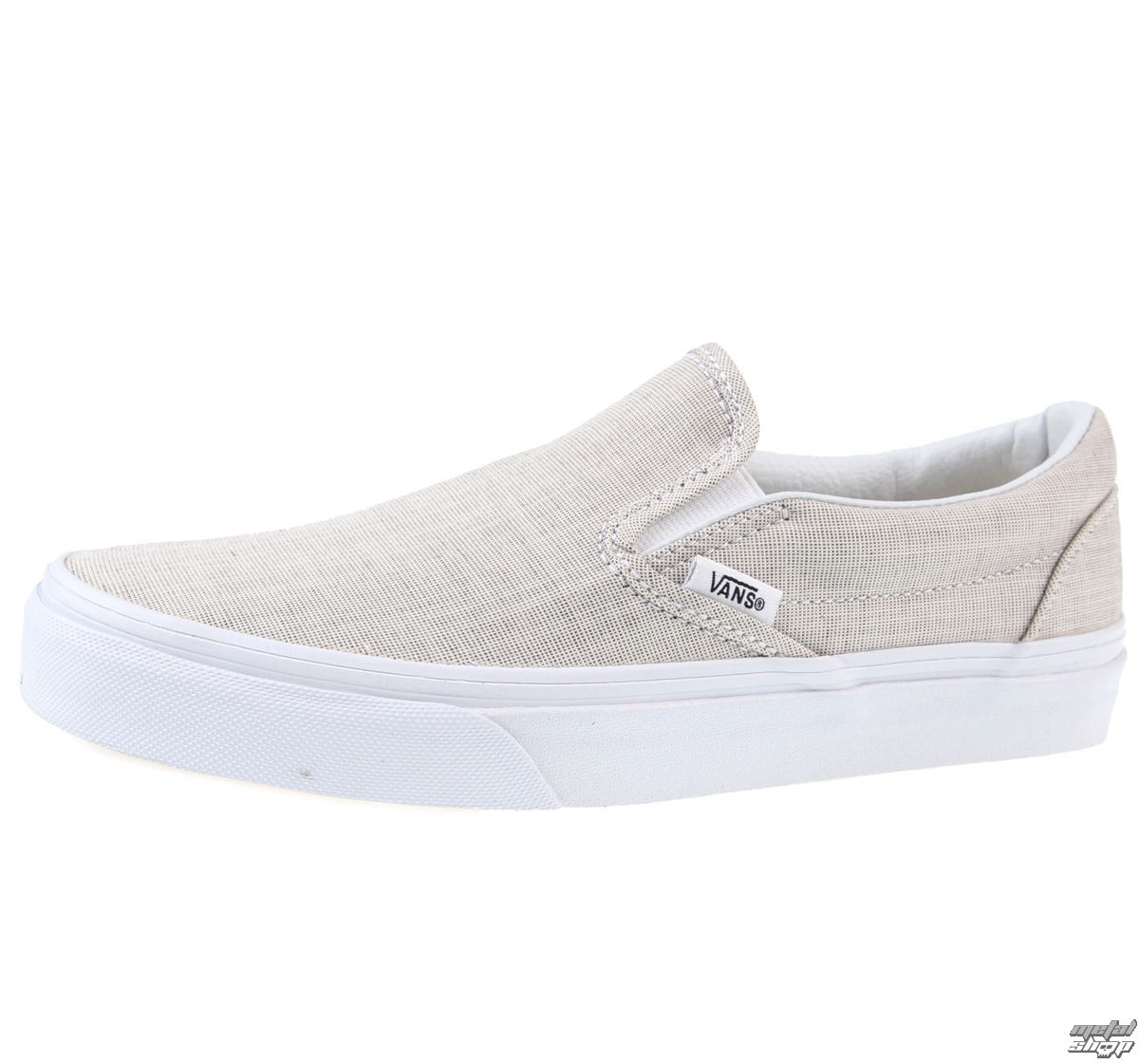 topánky VANS - U Classic Slip-On - (Chambray) - Gray/True White - V3Z4IAY
