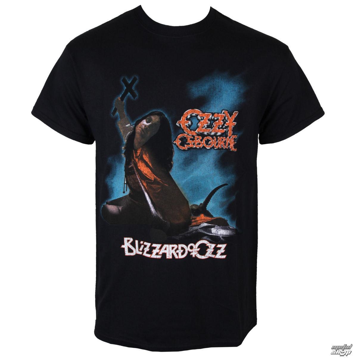 tričko pánske Ozzy Osbourne - Blizzard Of Ozz - ROCK OFF - OZZTS01MB01