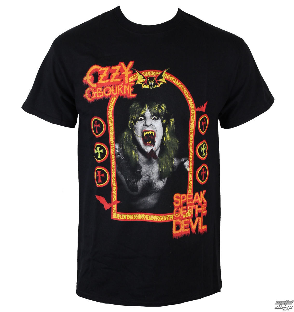 tričko pánske Ozzy Osbourne - Speak Of the Devil - ROCK OFF - OZZTS08MC