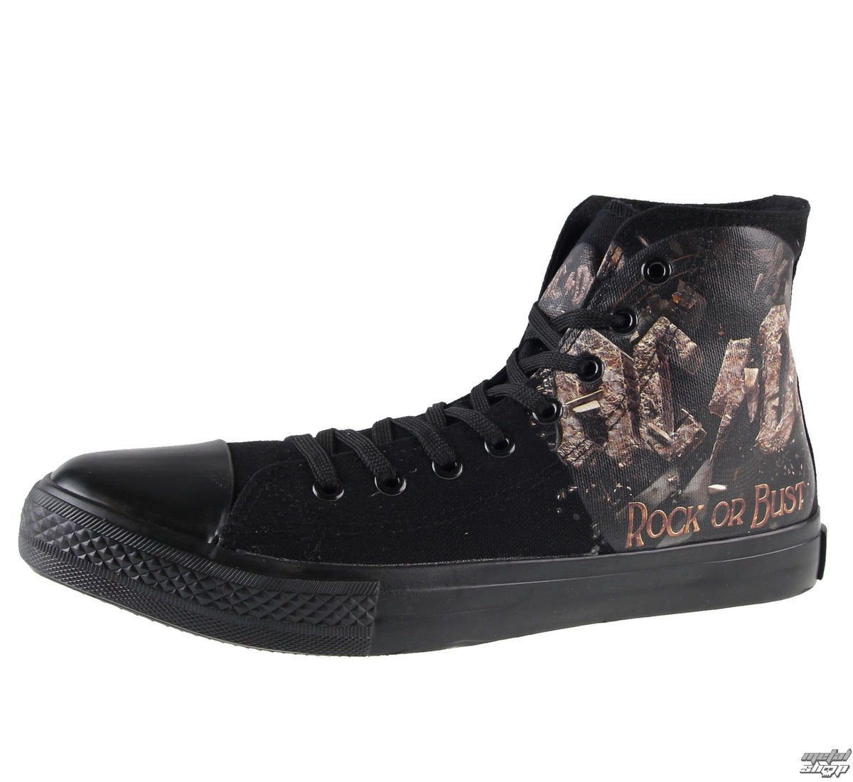 topánky AC/DC - Rock Or Bust - Black - F.B.I.. - 4510242