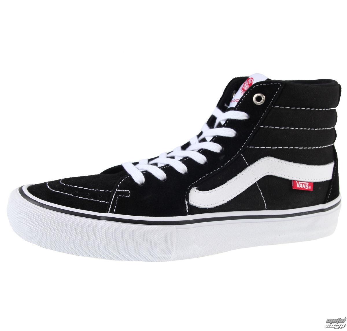 topánky pánske VANS - SK8-HI Pro - Black/White - VVHGY28