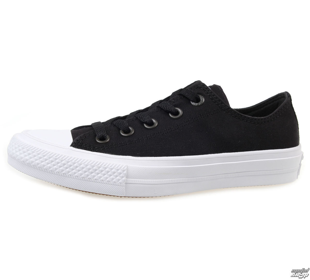 topánky CONVERSE - Chuck Taylor All Star II - BLACK/WHITE - C150149