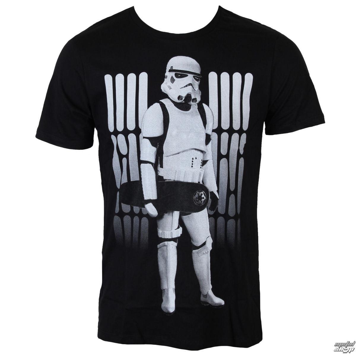 tričko pánske Star Wars - Skate Trooper - Black - LEGEND - HSTTS1329