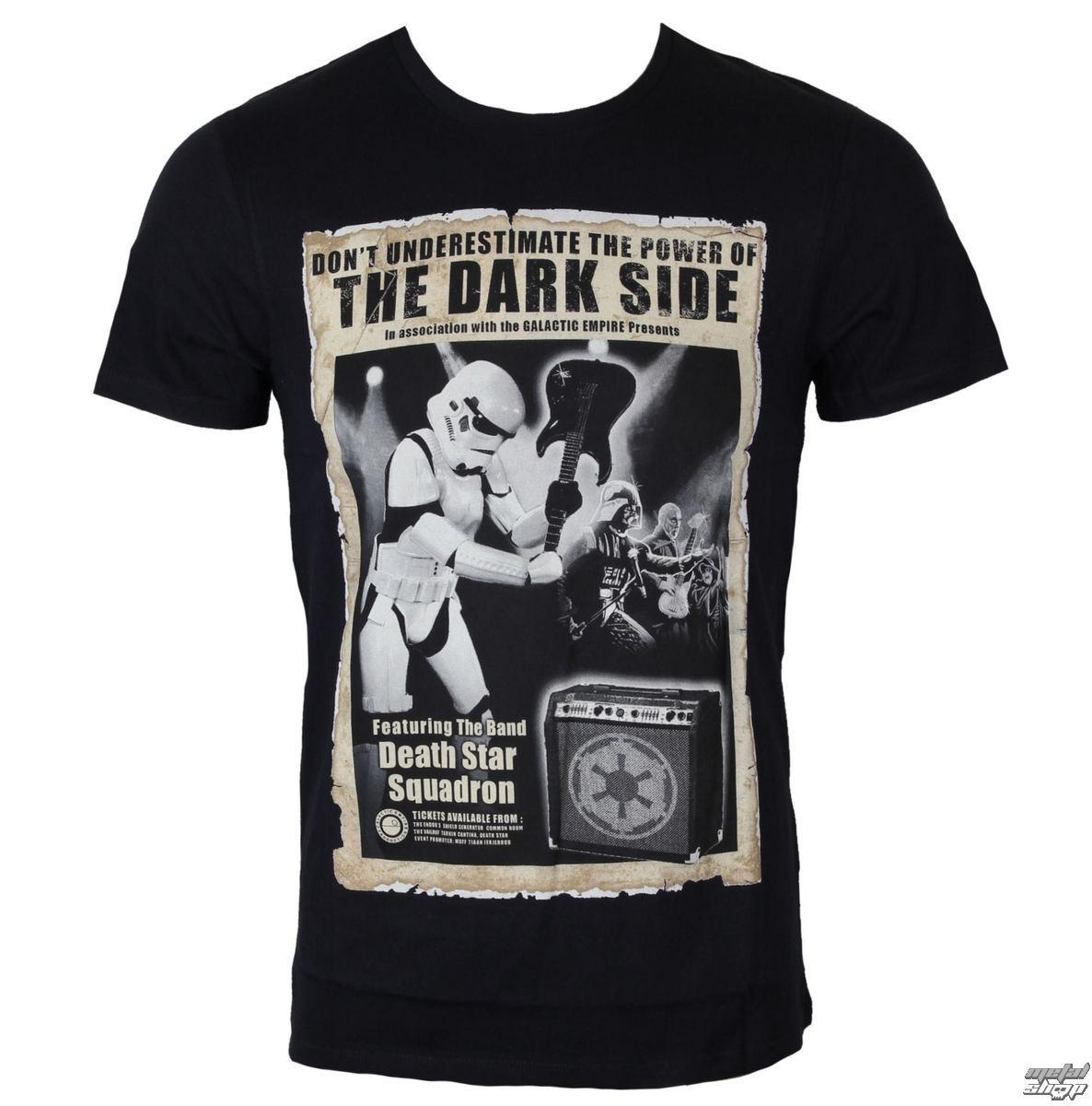 tričko pánske Star Wars - Death Star Concert - Black - LEGEND - HSTTS1333