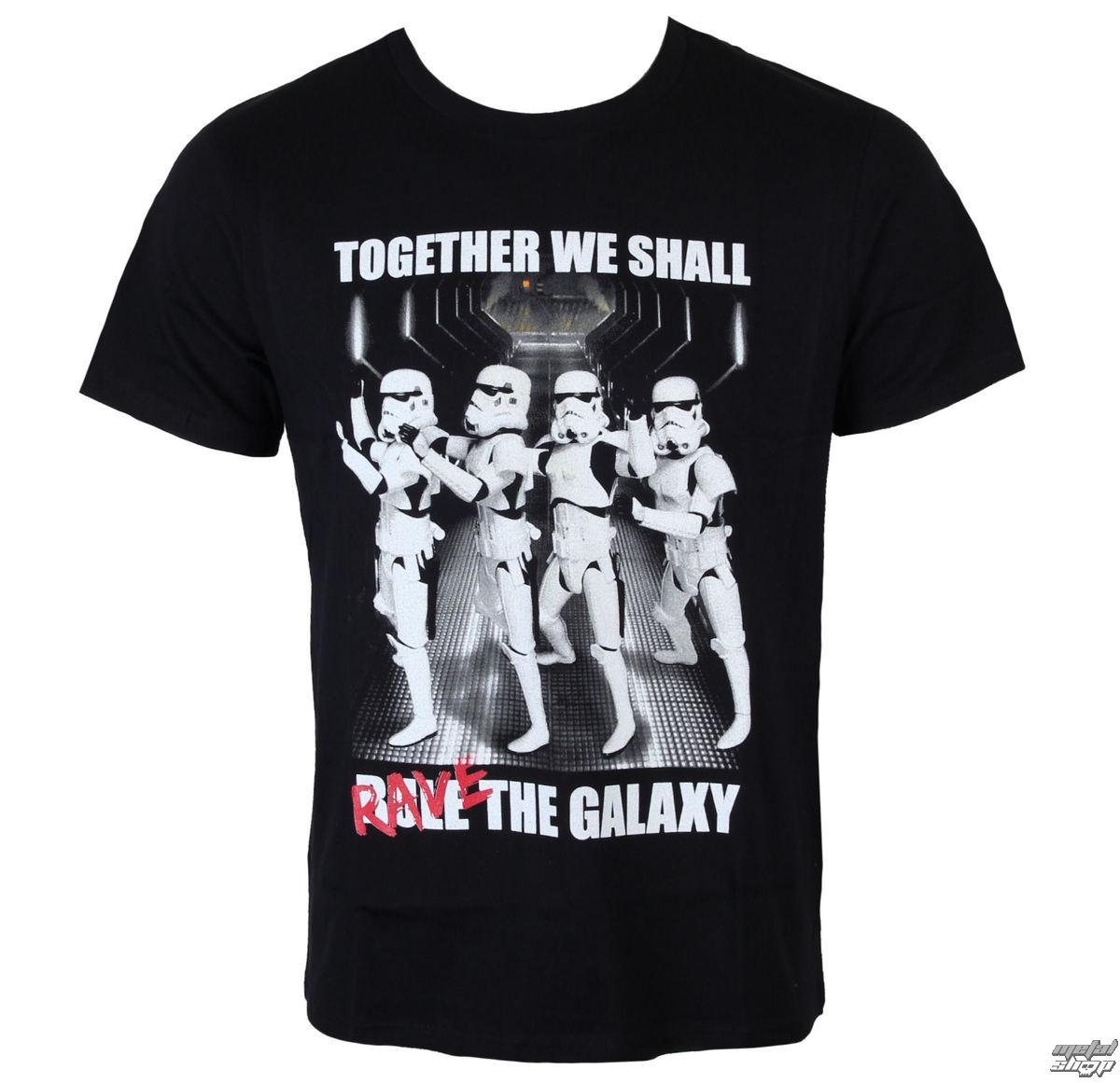 tričko pánske Star Wars - Trooper Party - Black - LEGEND - MESWSTOTS076