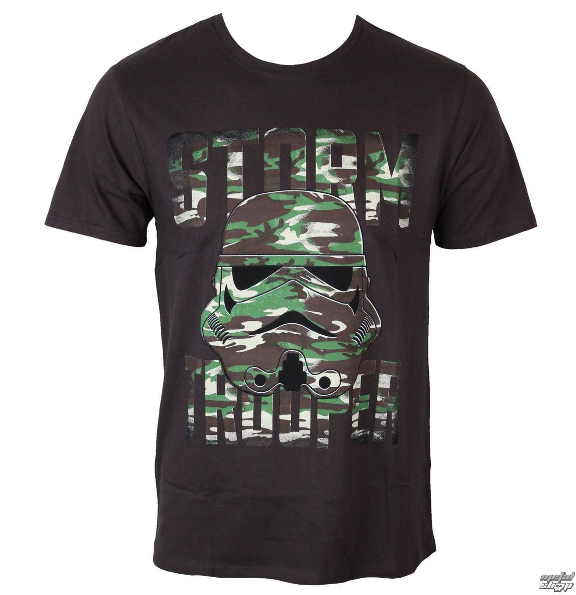 tričko pánske Star Wars - Mimetic Trooper - Anthracite - LEGEND - MESWSTOTS092