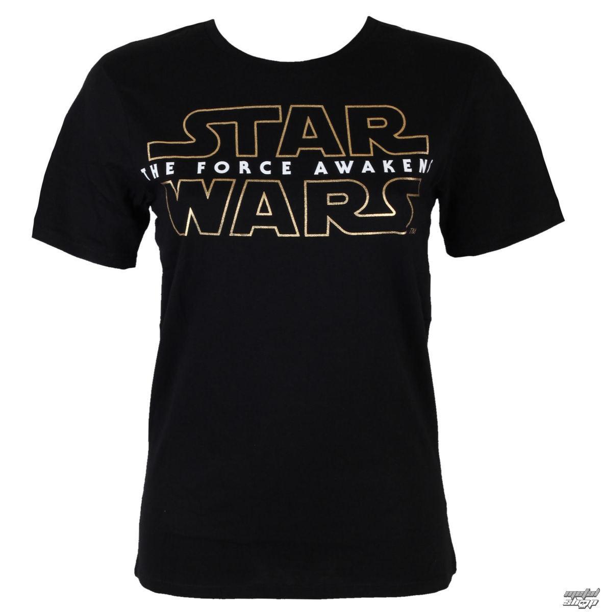 tričko pánske Star Wars - 7 Logo - Black - LEGEND - MESWSTOTS103