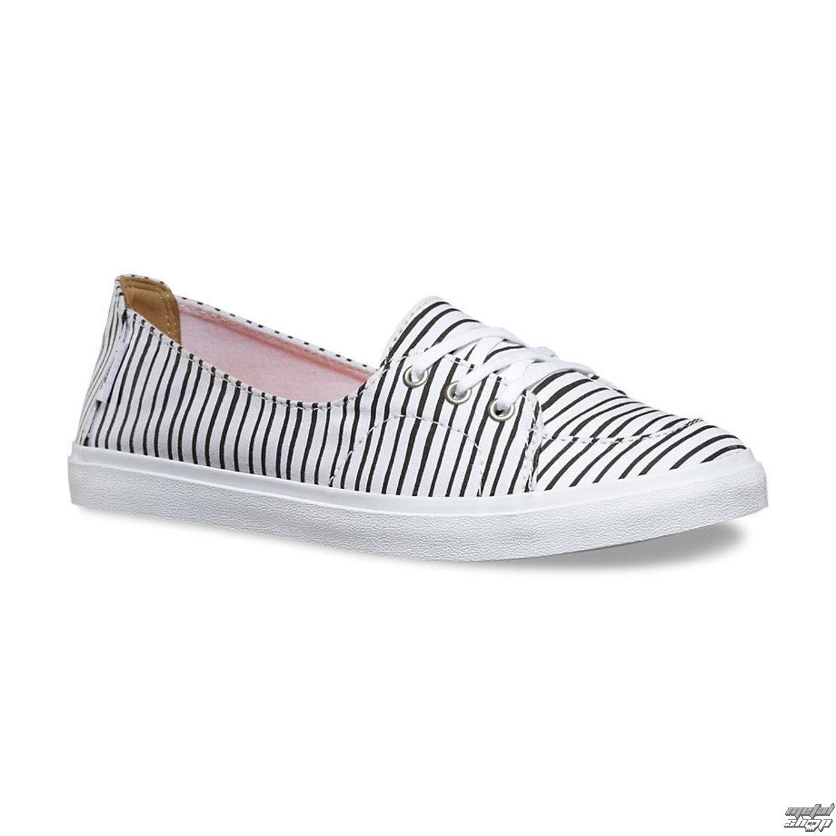 topánky dámske VANS - Palisades (Just Stripes) - True White / BLK - V4LDIF8
