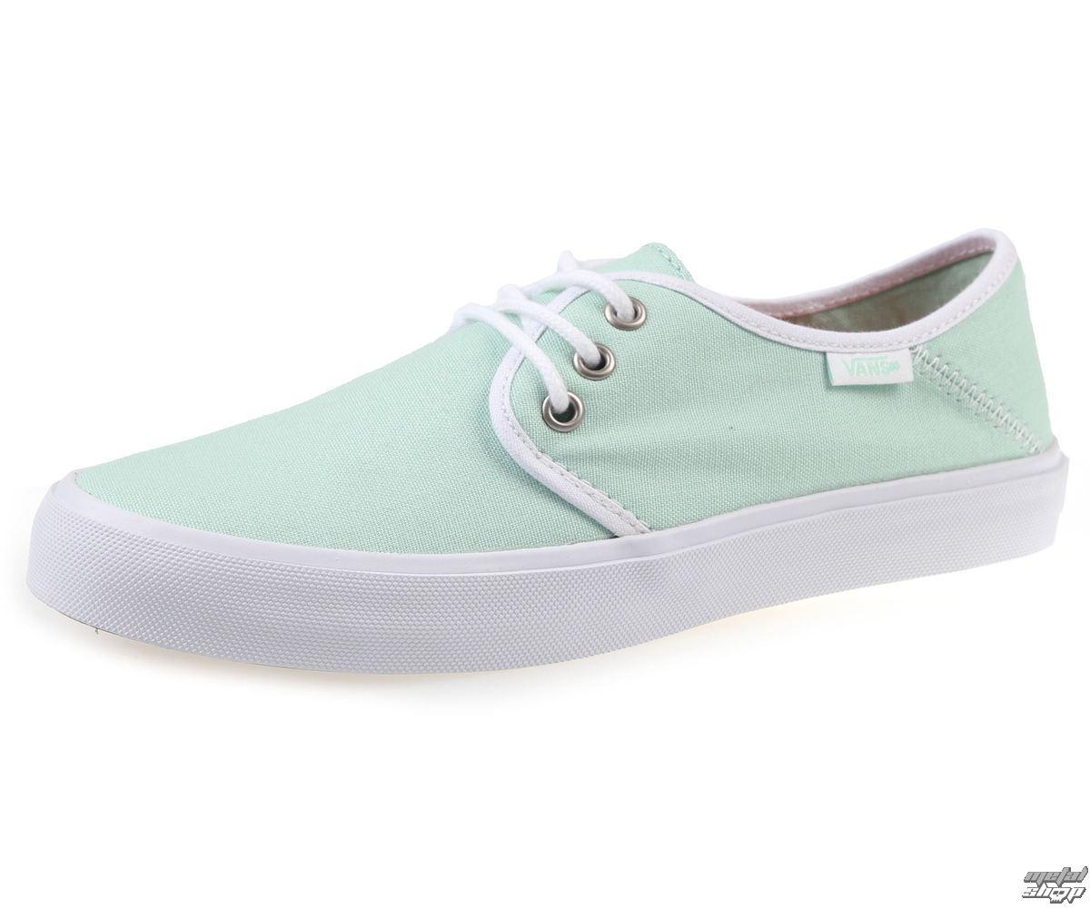 topánky dámske VANS - Tazi - Gossamer - Green/White - V4LLIYU