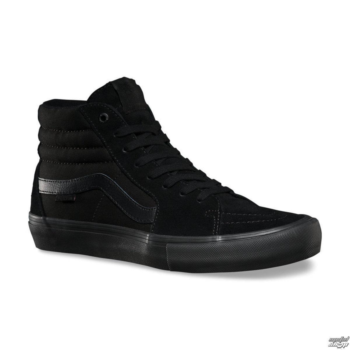 topánky pánske VANS - SK8-HI Pro - Blackout - VVHG1OJ