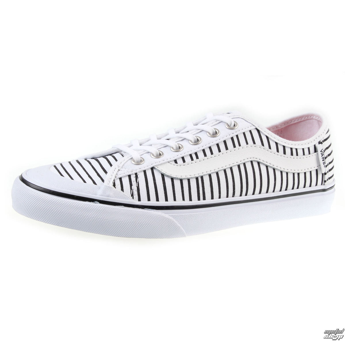 topánky dámske VANS - Black Guľa SF - Justr Stripes - V4LAIF8