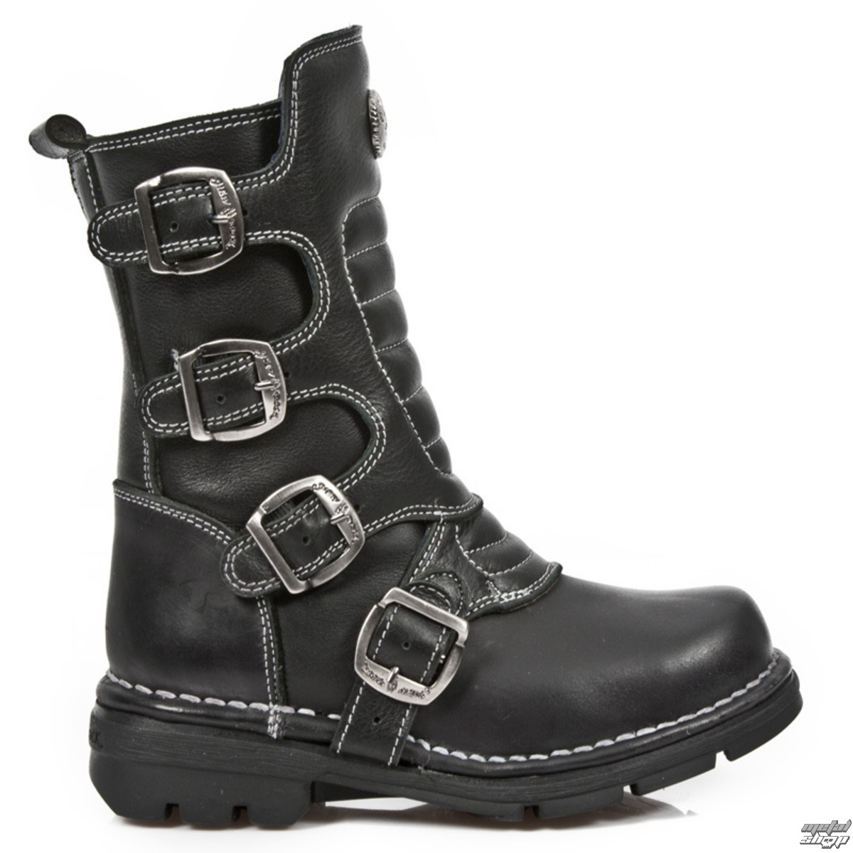 topánky detské NEW ROCK - ITALI NEGRO- ROADSTAR - M.KID373-S1