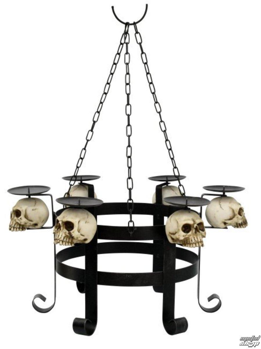 luster na sviečky Skull - 766-6970