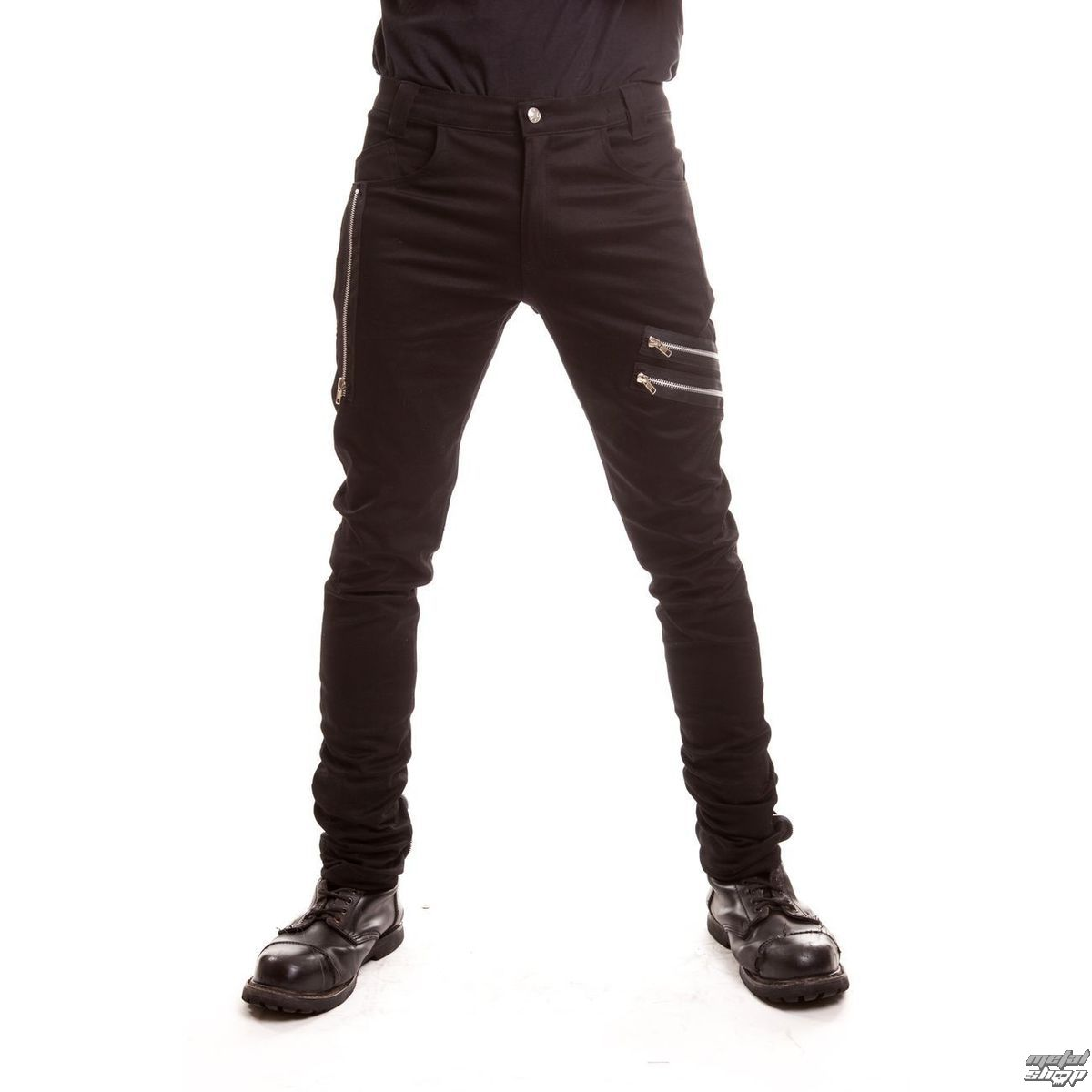 nohavice pánske VIXXSIN - Nexus - Black - POI086